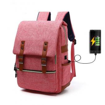 USB charge laptop backpack men women Travel Notebook