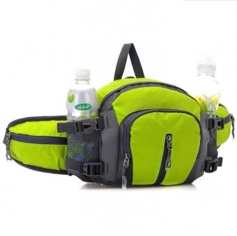 Customize Water Bottle Waist Bag Running Hiking Camping Fanny Pack Bag Water Resistant Outdoor Waist Pack Backpack Shoulder Bag -ORSTAR