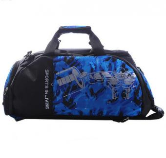 Fashion Custom Logo Sport Gym Bag Large Shoes Compartment Yoga Backpack Bag Dry Wet Swim Beach Bag -ORSTAR