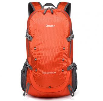 40L Lightweight Packable Backpack Water Resistant Hiking Daypack Foldable Camping Outdoor Bag -ORSTAR
